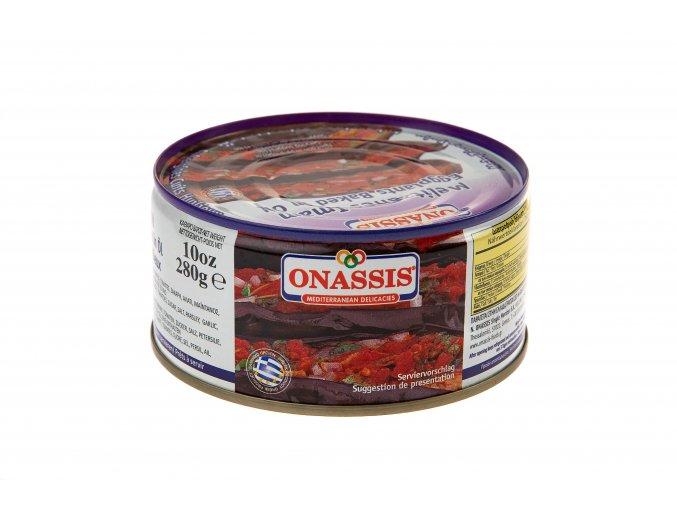 05 10 01 Baklažán (lilek) v tomatě pečený ONASSIS 280g