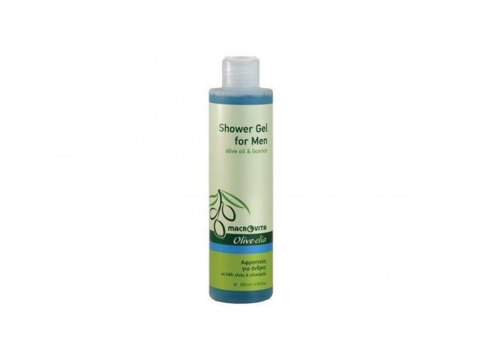 33061 Sprchový gel pro muže ol. olej a lékořice 200ml