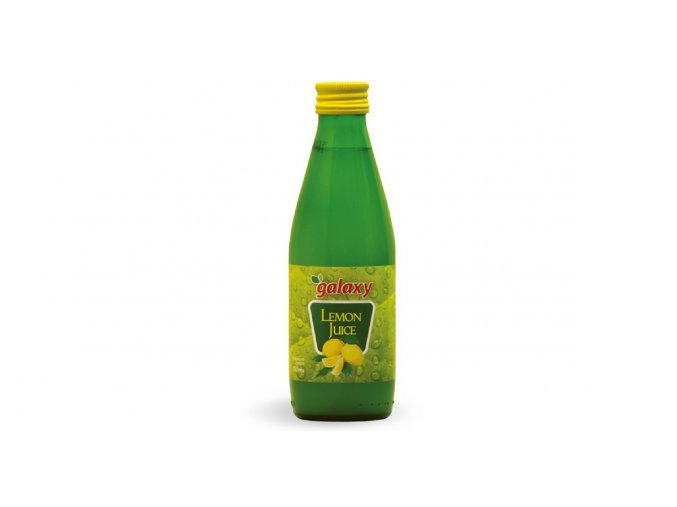 38 30 01 Lemon juice 250 ml sklo