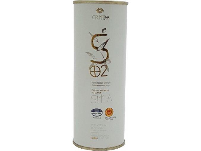 47 58 02 Extra pan. oliv. olej SITIA PDO 500 ml bílý plech