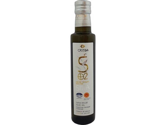 47 58 51 Extra pan. oliv. olej SITIA PDO 250 ml bílá sklo
