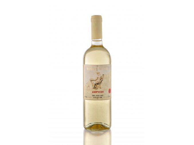 BÍLÉ suché víno DIONYSOS 6x750ml KARTON