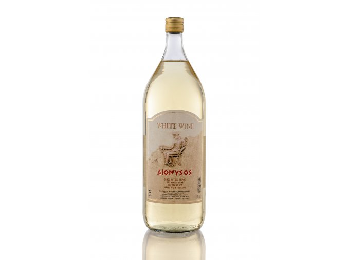 BÍLÉ suché víno DIONYSOS 6x2l KARTON