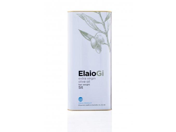 Extra panenský olivový olej ElaioGi 5 l - plech