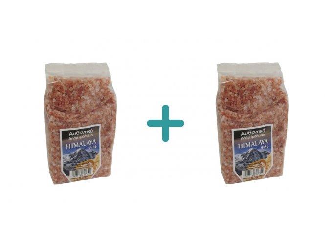 1+1 Himalájská růžová hrubá sůl 1 kg