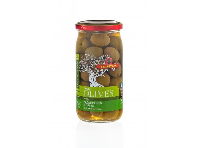 22 05 01 Olivy zelené s peckou 370 g