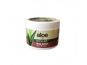 Natuline Aloe tělové máslo fíky 200 ml