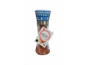 Himalájská růžová hrubá sůl 200 g mlýnek