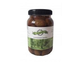 Obří zelené olivy DAMASKINO s peckou 550 g PET