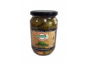 Nakládané malé okurky 710 g pickles