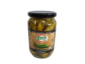 Nakládané zelené papričky 670 g