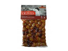 Mix zelených a černých oliv s BUKOVEM, s peckou 250 g LIMITOVANÁ EDICE