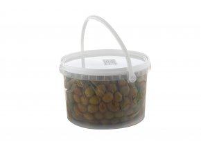 Zelené olivy s peckou velikost mamooth 5,3 kg