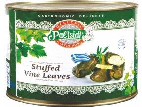 Vinné listy plněné rýží 2 kg PALTSIDIS
