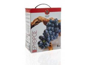 ČERVENÉ suché víno box s ventilkem 4x5l KARTON