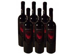 Červené suché apelační víno NEMEA 6x750ml KARTON
