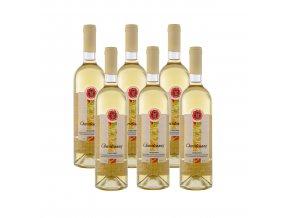Bílé suché víno Chardonnay 6x750ml KT
