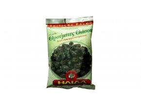 22 04 01 Olivy černé THASSOS s peckou sušené