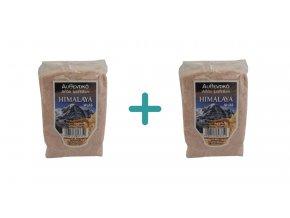 1+1 Himalájská růžová jemná sůl 1 kg