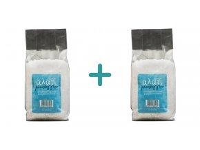 1+1 Výběrová řecká mořská sůl hrubá 1 kg
