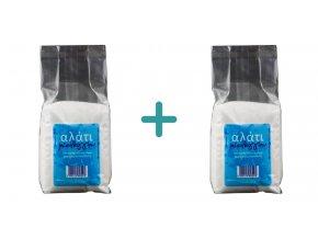 1+1 Výběrová řecká mořská sůl jemná 1 kg