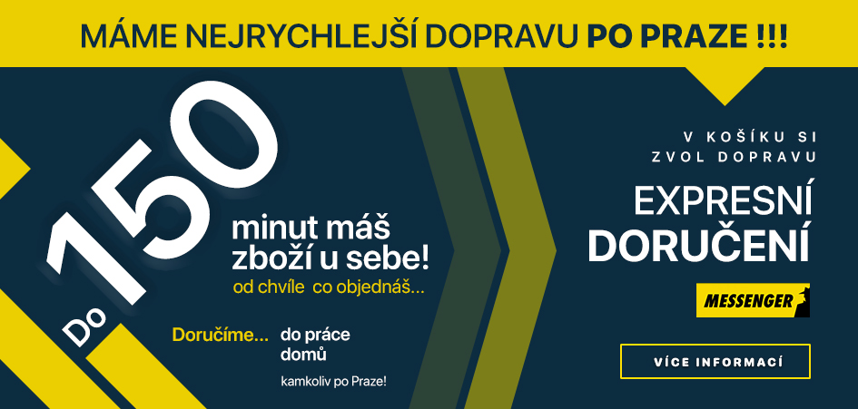 Expresní doručení po praze Recomp.cz