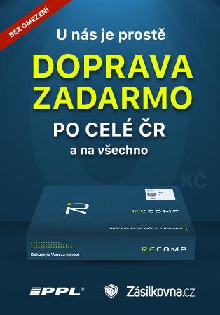 Doprava zdarma Recomp.cz