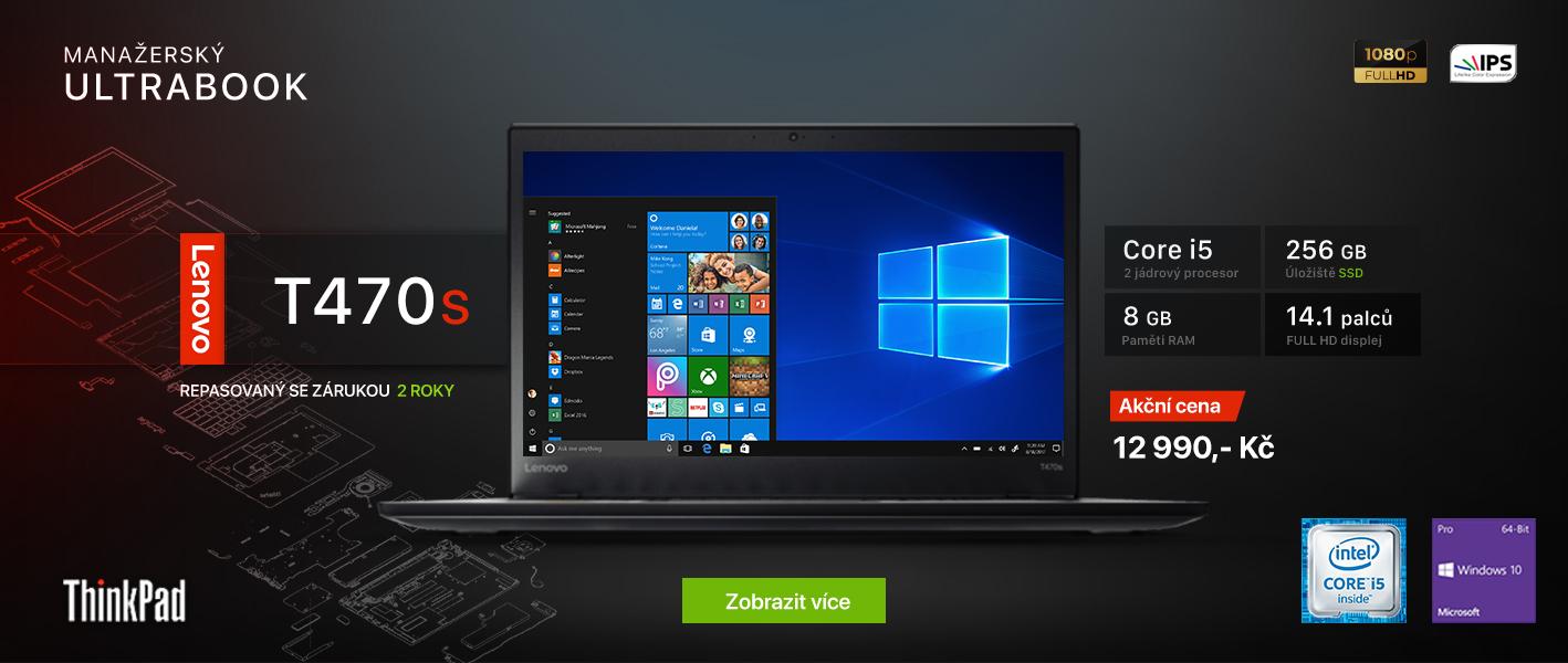 Lenovo ThinkPad T470s - Recomp.cz