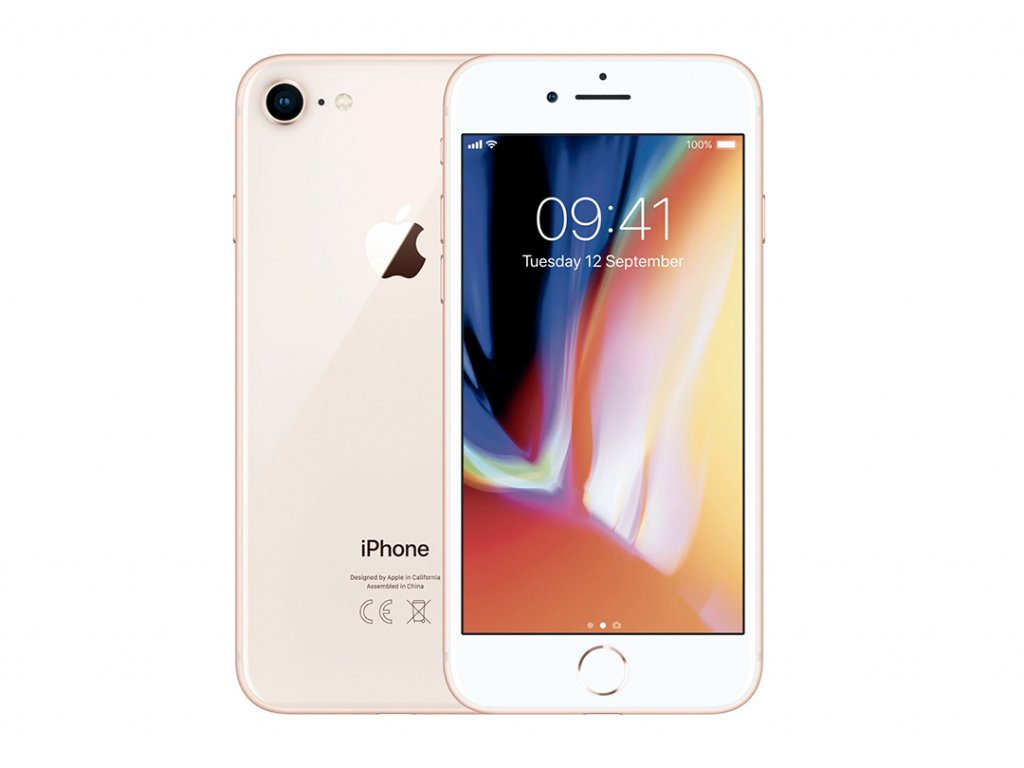 Apple iPhone 8 Gold Recomp 02