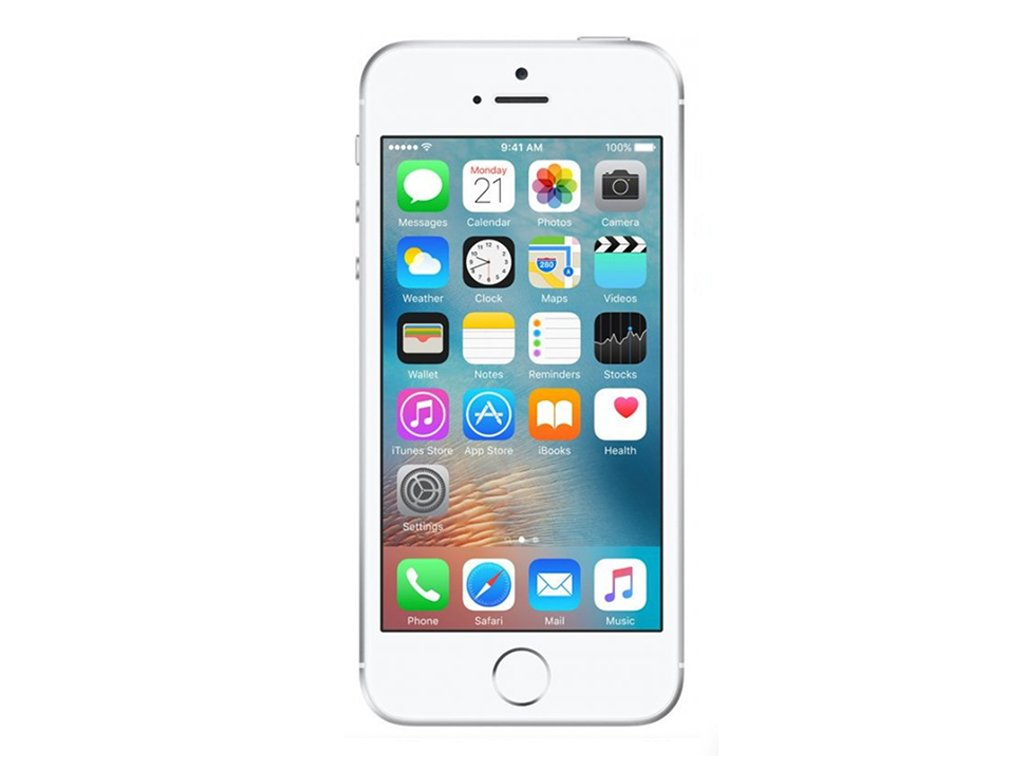 Apple iPhone SE Silver Recomp 001