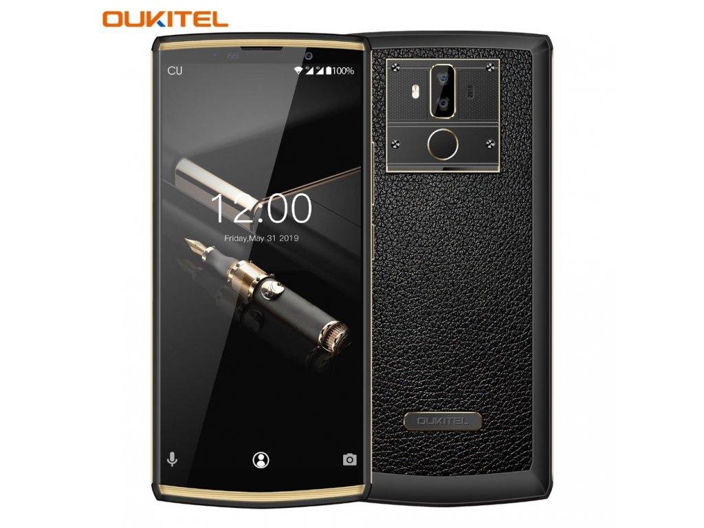 Oukitel K7 Pro černá  4GB RAM, FHD+, LTE, 10.000mAh, Android 9 AKCE + gelové pouzdro a folie
