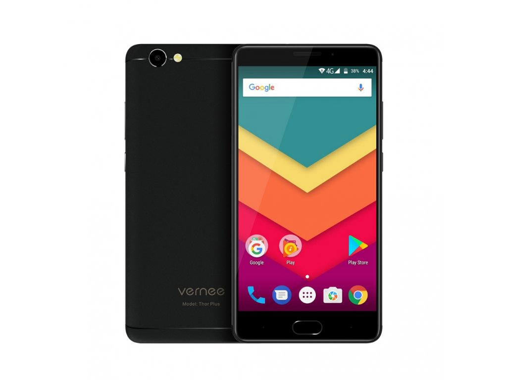 Vernee Thor Plus black  3GB RAM, Super AMOLED, LTE, 6200mAh + folie zdarma