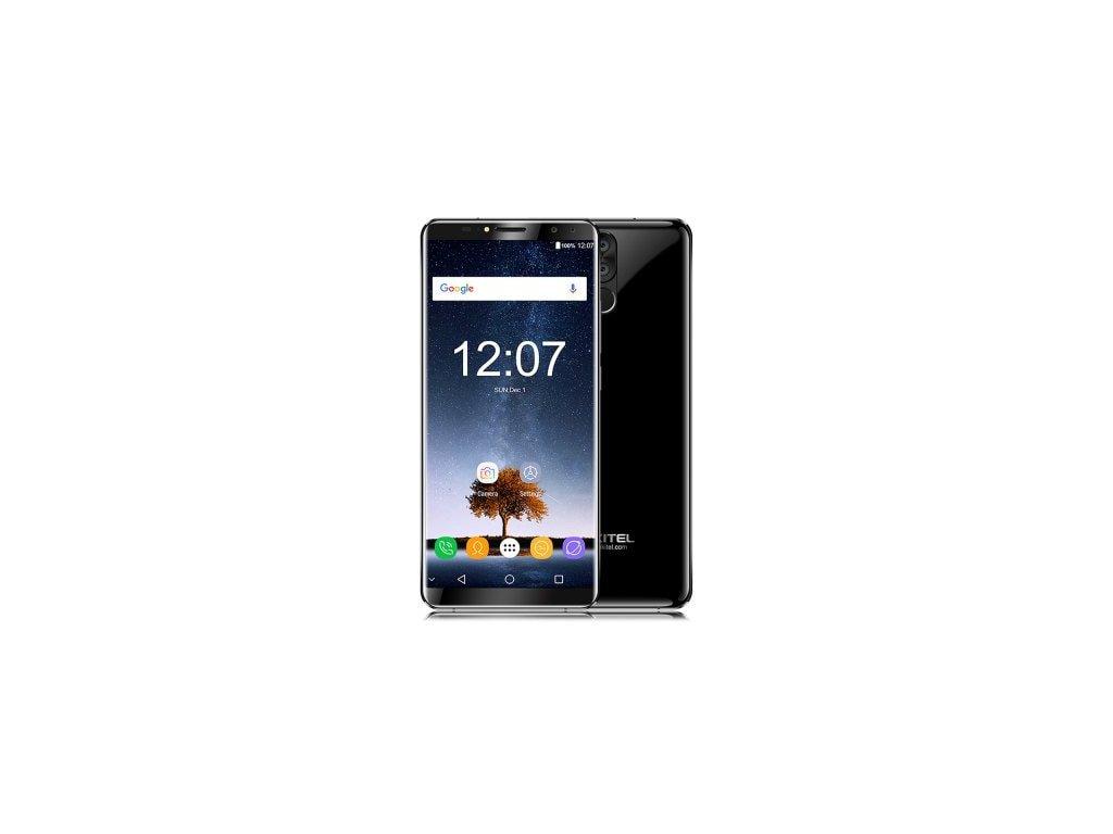 Oukitel K6  8-jádro, 6/64GB, FHD+, LTE, NFC, Quad kamera 21MPx, 6300mAh + prodloužená záruka, OTG kabel, redukce, gelové pouzdro a folie