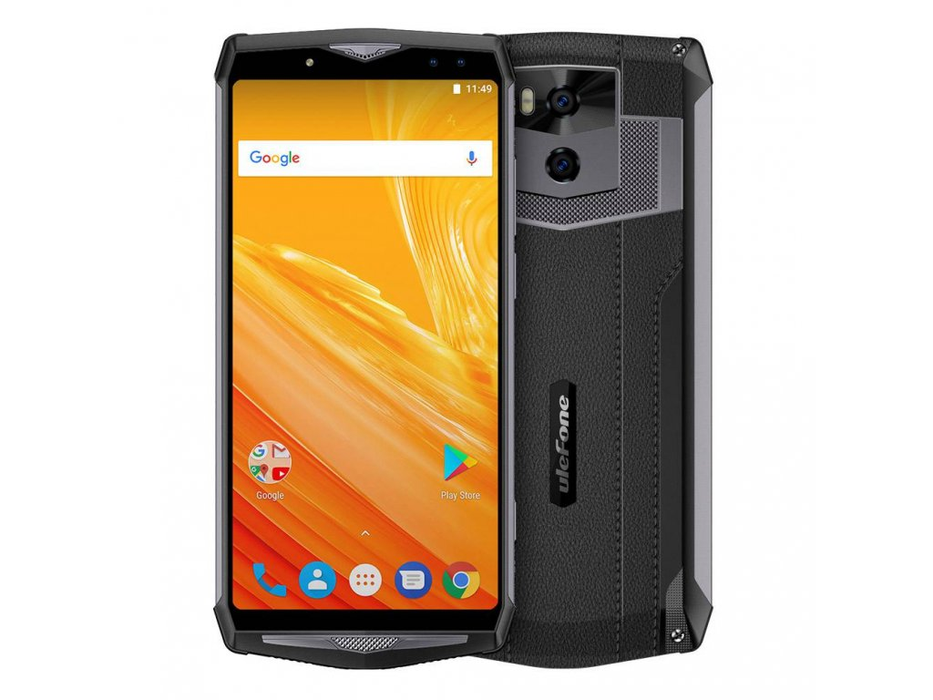 Ulefone Power 5 6 0 Inch 6GB 64GB Smartphone Black 637415