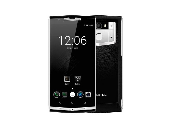 Oukitel K10000 Pro  3GB RAM, FHD, LTE, 10.000mAh, Android 7 + prodloužená záruka 30 měsíců, kožené a gelové pouzdro + tvrzené sklo!