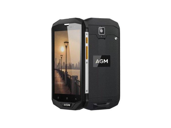 "AGM A8 64GB  5"", 4GB RAM, HD, IP68, NFC, LTE, Android 7 + folie zdarma"