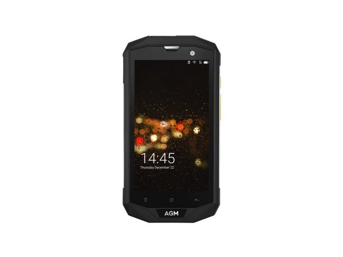 "AGM A8 32GB  5"", 3GB RAM, HD, IP68, NFC, LTE, Android 7 + folie zdarma"