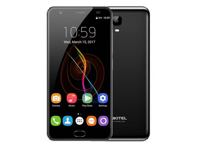 Oukitel K6000 Plus  4GB RAM, LTE, 13MPx, 6000mAh + prodloužená záruka, gelové pouzdro a folie