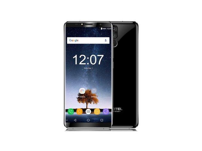 Oukitel K6  6GB RAM, LTE, NFC, Quad kamera 21MPx, 6300mAh + prodloužená záruka, OTG kabel, gelové pouzdro a folie