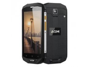 "AGM A8 64GB  5"", 4GB RAM, HD, IP68, NFC, LTE, Android 7 + folie zdarma"