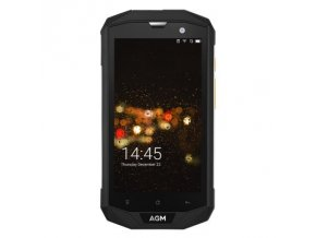 "AGM A8 32GB  5"", 3GB RAM, HD, IP68, NFC, LTE, Android 7 + folie zdarma"