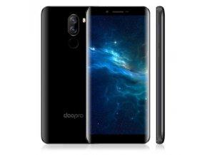 Doopro P5 Pro  Doogee, 2GB RAM, LTE, dual kamera, 18:9 HD, čtečka otisků, Android 7 + prodloužená záruka 30 měsíců a folie
