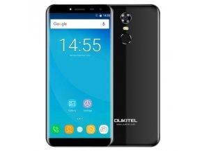 Oukitel C8 Pro 4G  2GB RAM, 16GB, čtečka otisků, LTE, Android 7 + gelové pouzdro a folie zdarma