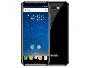 Oukitel K5000  4GB RAM, 18:9 HD+, LTE, čtečka otisků, Android 7 + záruka 30 měs., gelové pouzdro, folie a redukce USB-C