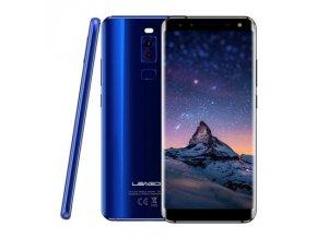 """Leagoo S8  5,7"""" Sharp, 18:9, 8-jádro, 3GB RAM, LTE, Quad kamera + prodloužená záruka, sluchátka a gelové pouzdro"""