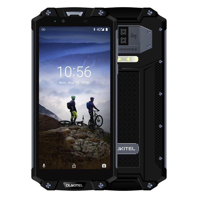 Oukitel WP2 Barva: černá 4GB RAM, LTE, IP68, NFC, FHD, 10000mAh baterie!