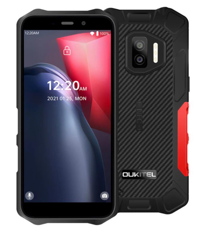 Oukitel WP12 Pro Barva: červená 64GB, NFC, IP68, Gorilla Glass, LTE