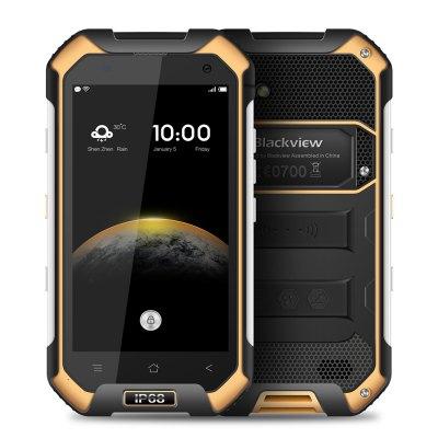 Blackview BV6000S Barva: žlutá rozbaleno, NFC, LTE, IP68, Gorilla 3, 4200mAh