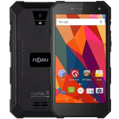 """Nomu S10 5"""", 2GB RAM, HD, IP68, LTE, Gorilla Glass 3 + folie zdarma černá"""