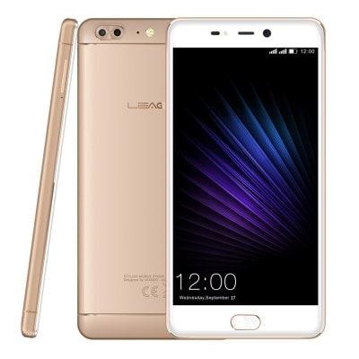 Leagoo T5 64GB 4GB RAM, FHD Sharp, LTE, Dual kamera + gelové pouzdro a folie zdarma zlatá